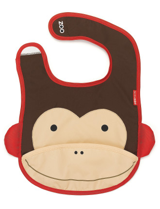 Monkey Zoo Bib