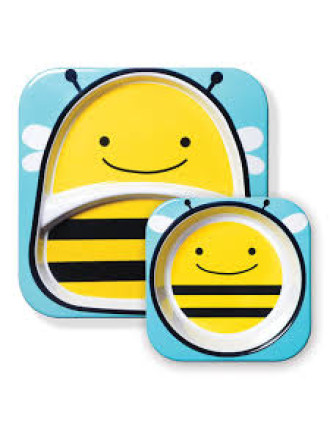 Bee Zoo Melamine Set