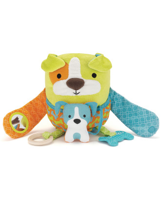 Dog Hug & Hide Activity Toy