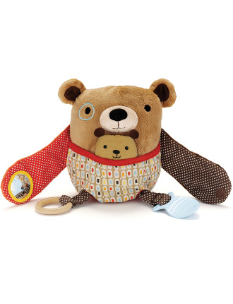 Bear Hug & Hide Activity Toy
