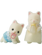 Silk Cat Twin Babies $11.95