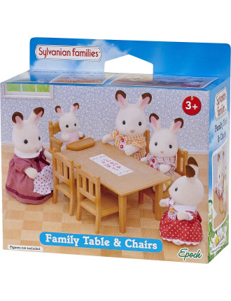 Family Table And Chairs