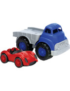 Flatbed Truck with Red Race Car $49.99