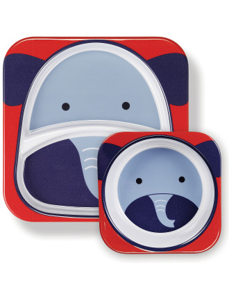 Elephant Zoo Melamine Set