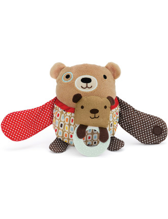 Bear Hug & Hide Stroller Toy