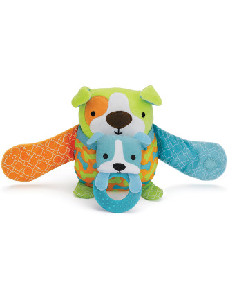 Dob Hug & Hide Stroller Toy