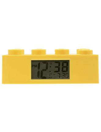 Giant Brick Alarm Clock