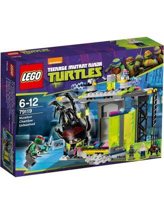 Teenage Mutant Ninja Turtles Mutation Chamber Unleashed