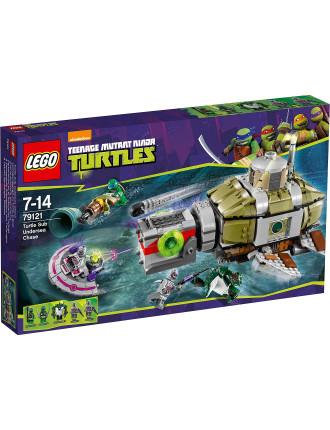 Teenage Mutant Ninja Turtles Turtle Sub Undersea Chase