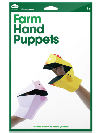 Npw Hand Puppets