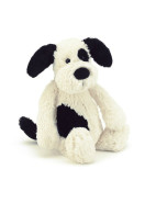 Bashful Black & Cream Puppy Medium $29.95