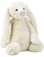 Bashful Cream Bunny Large $49.95