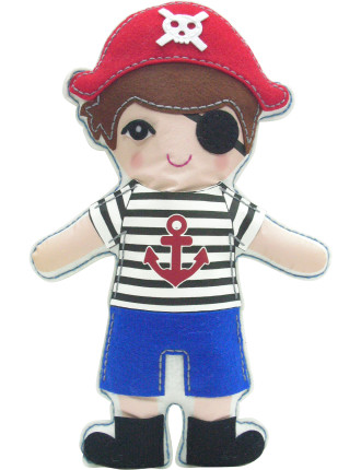 Pirate Pillow Doll