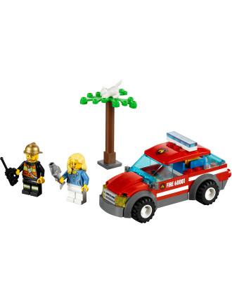 City Fire Chief Car