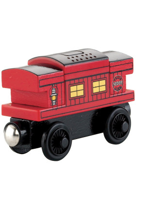 Wooden Musical Caboose