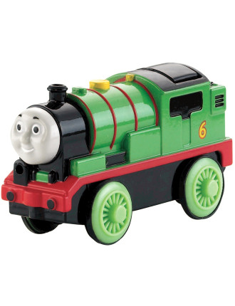 Wooden Battery Operated Percy