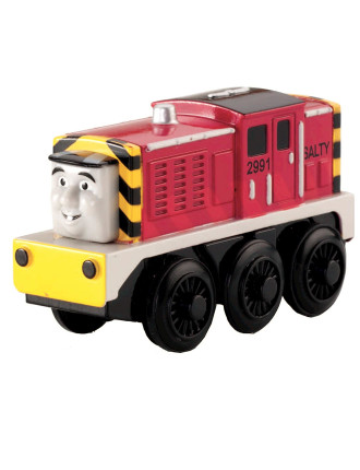Wooden Battery Operated Salty