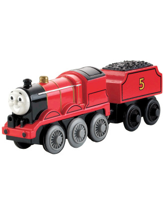 Wooden Battery Operated James