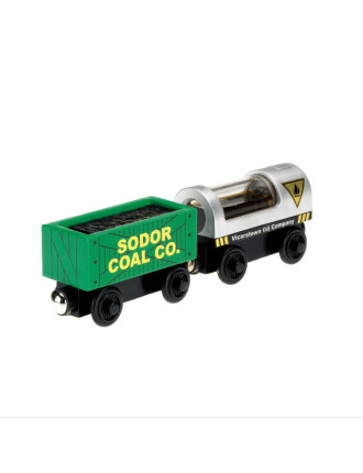 Wooden Diesel & Steam 2 Pack