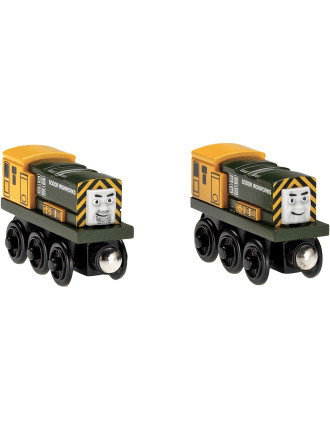 Wooden Iron Arry & Bert 2 Pack