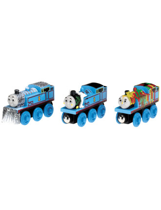 Wooden Adventure Thomas 3 Pack