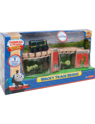 Wooden Wacky Track Bridge