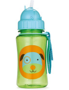 Dog Zoo Straw Bottle $14.95
