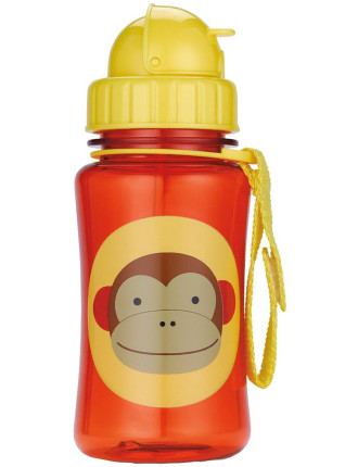 Monkey Zoo Straw Bottle