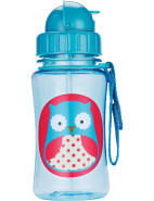 Owl Zoo Straw Bottle $14.95