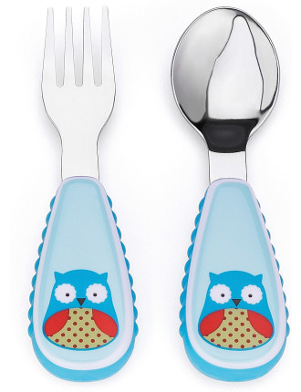 Owl Zoo Utensil Set