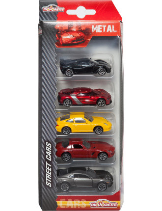5 Pack Diecast Vehicles Assorted