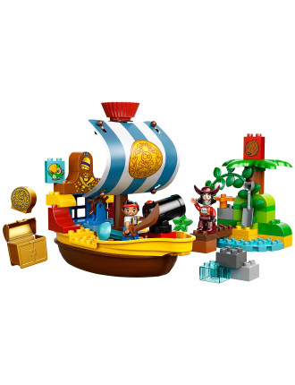 Duplo Jakes Pirate Ship Bucky