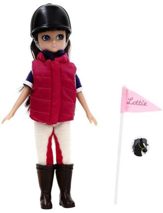 Pony Flag Race Doll