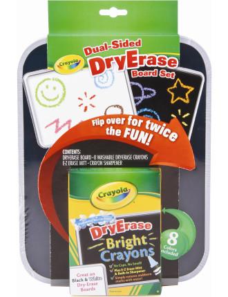 Crayola Duel-Sided Dry Erase Board Set