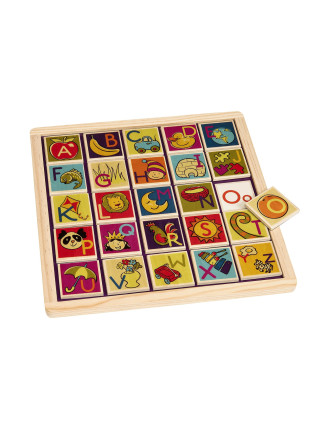 Magnetic Alphabetic Puzzle