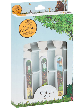 Gruffalo 3pc Cutlery Set