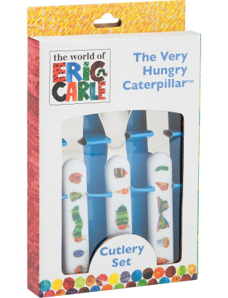 Very Hungry Caterpillar 3pc Cutlery Set