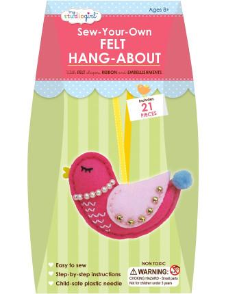 My Studio Girl Sew-Your-Own Felt Hang-About Bird