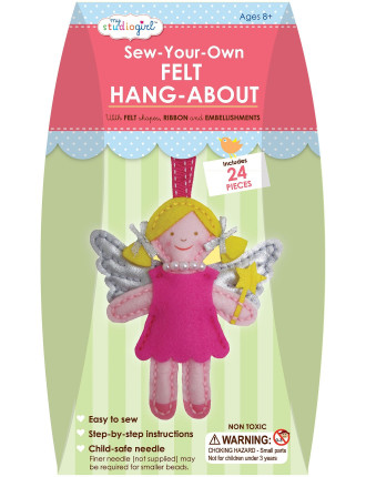 My Studio Girl Sew-Your-Own Felt Hang-About Angel