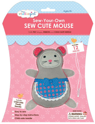 My Studio Girl Sew Cute Mouse