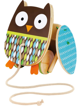 Owl Treetop Pull Toy