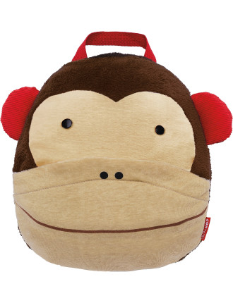 Monkey Zoo Travel Blanket