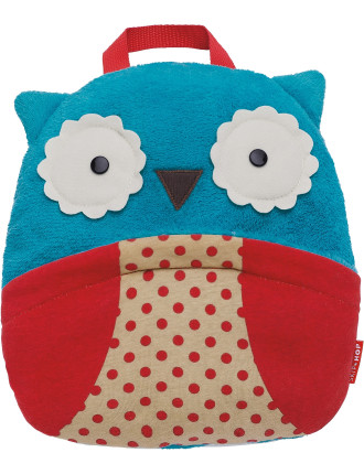 Owl Zoo Travel Blanket