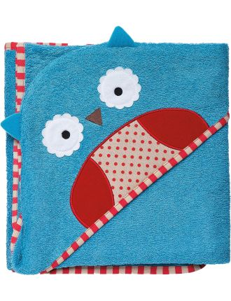 Owl Zoo Hooded Towel