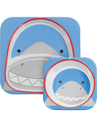 Shark Zoo Melamine Set
