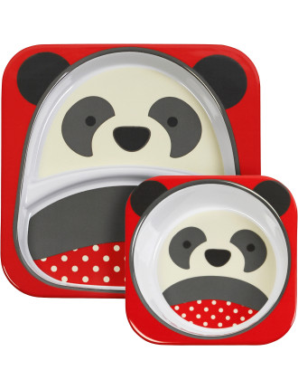 Panda Zoo Melamine Set