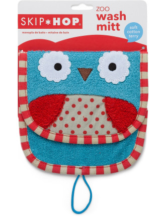 Owl Zoo Wash Mitt