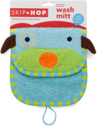 Dog Zoo Wash Mitt $9.95