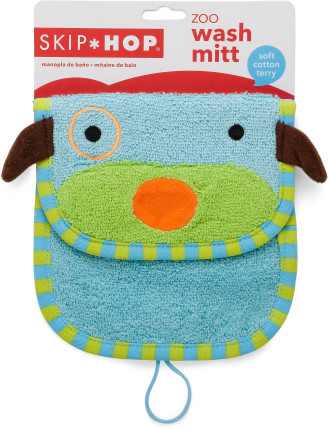 Dog Zoo Wash Mitt