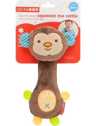 Squeeze Me Rattle - Monkey